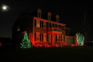 Home with Holiday Decorations photo by Steve Cornelius